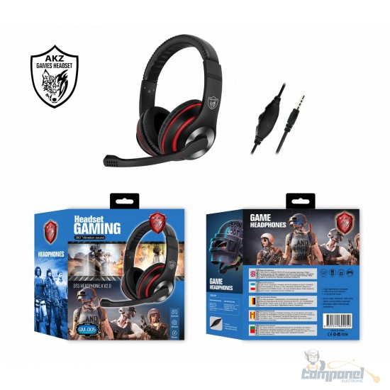 Headphone Gamer para Pc e Smartphone - GM 005